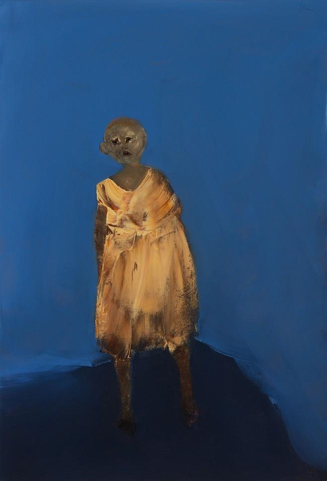 Marianne Kolb, Midnight Walk 2015, mixed media on canvas
