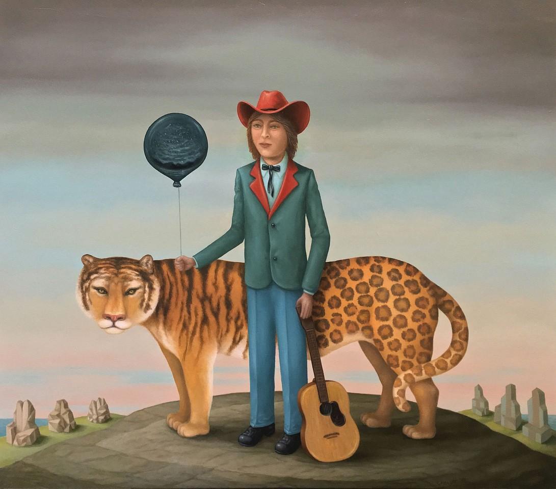 Charles Keiger, Magic Boy 2017, oil on canvas
