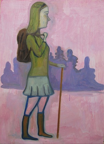 Exhibition: Art & Gift Extravaganza, Work: Stephanus Heidacker Girl with Back Pack, 2013