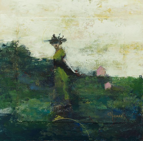 Cathy Hegman<br/> <i>Weight of Balance Little Pink House</i>, 2019