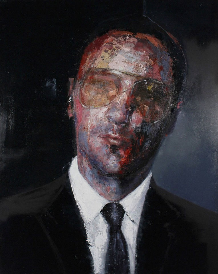 Calvin Jones ,   Tom Ford  ,  2019     oil on canvas ,  60 x 42 in. (152.4 x 106.7 cm)     CJ 35     Price Upon Request