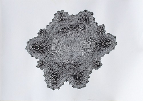 Stewart Helm<br/> <i>Abstract -Black-(Untitled)</i>, 2018