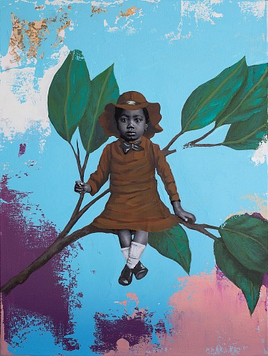 Exhibition: Seven Artists Figurative Show, Work: Cedric Smith Magnolia, 2019