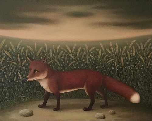 Charles Keiger<br/> <i>The Medow (Red Fox)</i>, 2020